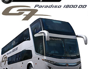 Marcopolo G7 Paradiso 1800DD bus 3D model