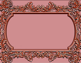 Mirror classical carved frame 3d Reliefs for cnc 2