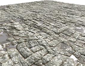 3D model Old Floor Seamless 2 PBR