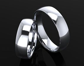 3D printable model wedding ring comfort