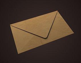 Envelope 3D asset