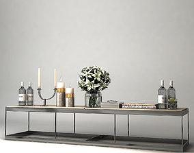3D model COFFEE TABLE LA QUINTA Eichholtz