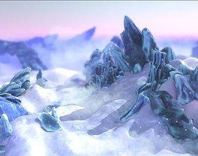3D model FROST - Frozen Environment Kit