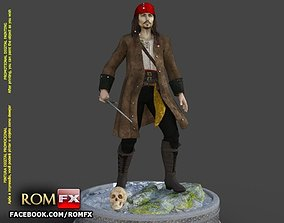 Captain Jack Sparrow - Pirates of the Caribbean Figure