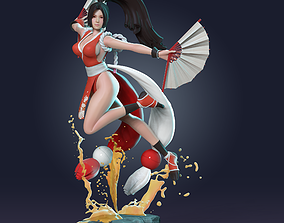 3dprint 3D printable model Mai - King of Fighter