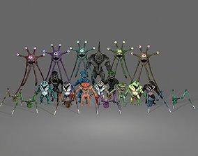 RPG Reptiles Pack 3D model