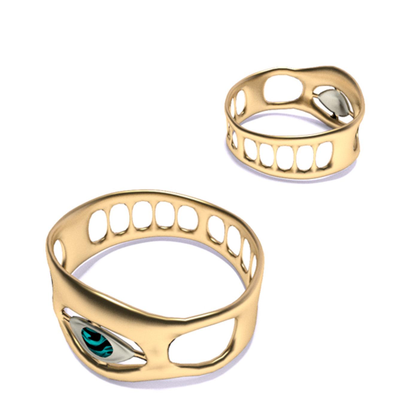 Free Ring all-seeing eye