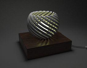 3D print model Spiral lamp
