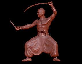 Cossack statue model warrior