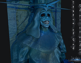 Statue of God 3D print model