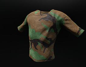 3D asset T-Shirt 7