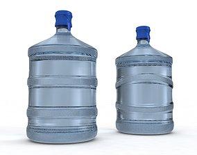 Dispenser Water Bottletwo models 3D