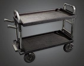 3D model HLW - Trolley 01 - PBR Game Ready