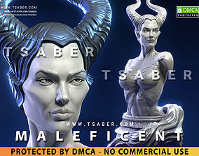 3D printable model Maleficent Bust