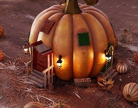 3D model Iddy Biddy Pumpkin House