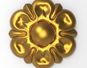 petergof 3D decorative rosette
