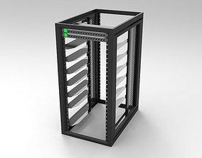 3D model 26RU Systems Rack