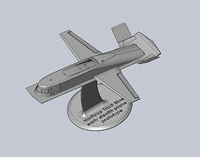 Northrop Tacit Blue Early US Stealth 3D printable model 1