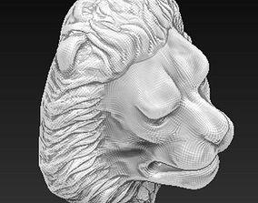 lion statue door knocker 3D printable model