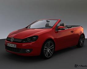 Volkswagen Golf Cabrio 2012 3D model