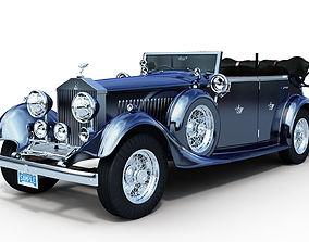 royce Rolls Royce Phantom II 3D model