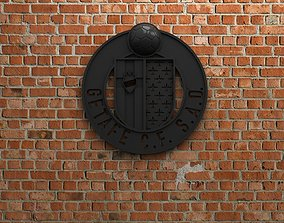 3D Getafe CF Logo