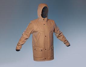 3D Parka Jacket