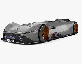 Mercedes-Benz Vision EQ Silver Arrow 2018 3D
