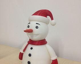 snowman 3D print model