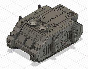Rhino Deimos patter transport 3D printable model