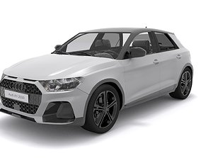 3D Audi A1 Citycarver 2020