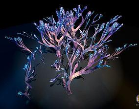 Alien Plant Fungus Type 2 3D asset