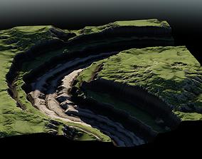Plateau River 04 3D