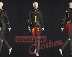 Si-Fi Future Suit - 38 Marvelous Designer and Clo3D