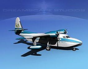 Grumman G-73 Mallard Island Air 3D model