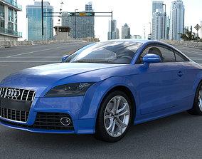3D model detailed Audi TTs