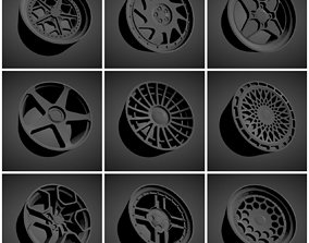 263 Classic rims scalable and printable 3D