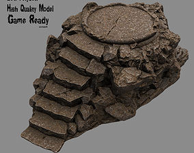Stairs 001 3D model