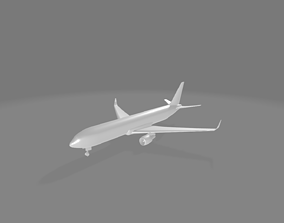 3D model Boeing 767