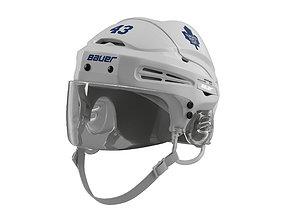 3D model Hockey Helmet Toronto Maple Leafs