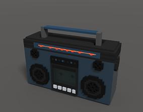 3D model Retro Boombox Ghetto