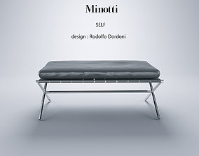 Minotti Self 3D model