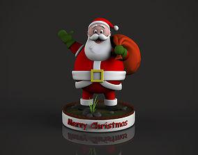 SantaClaus 3D printable model