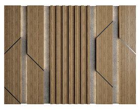 3D Wall Panel 19