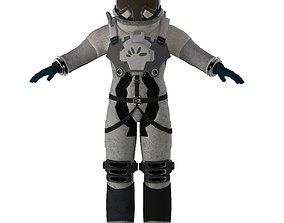 3D asset Astronaut Rigged Animated