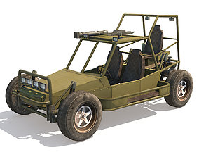 3D model Dune Military Buggy