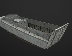 LCVP Landing craft vehicle personnel- WW2 Higgins 3D model