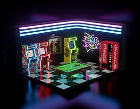 Arcade - Game Room 3D model