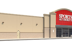 Retail-055 Sports Authority 3D model