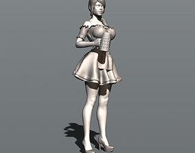 3D print model Oktoberfest waitress